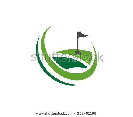 Golf logo - stock vector