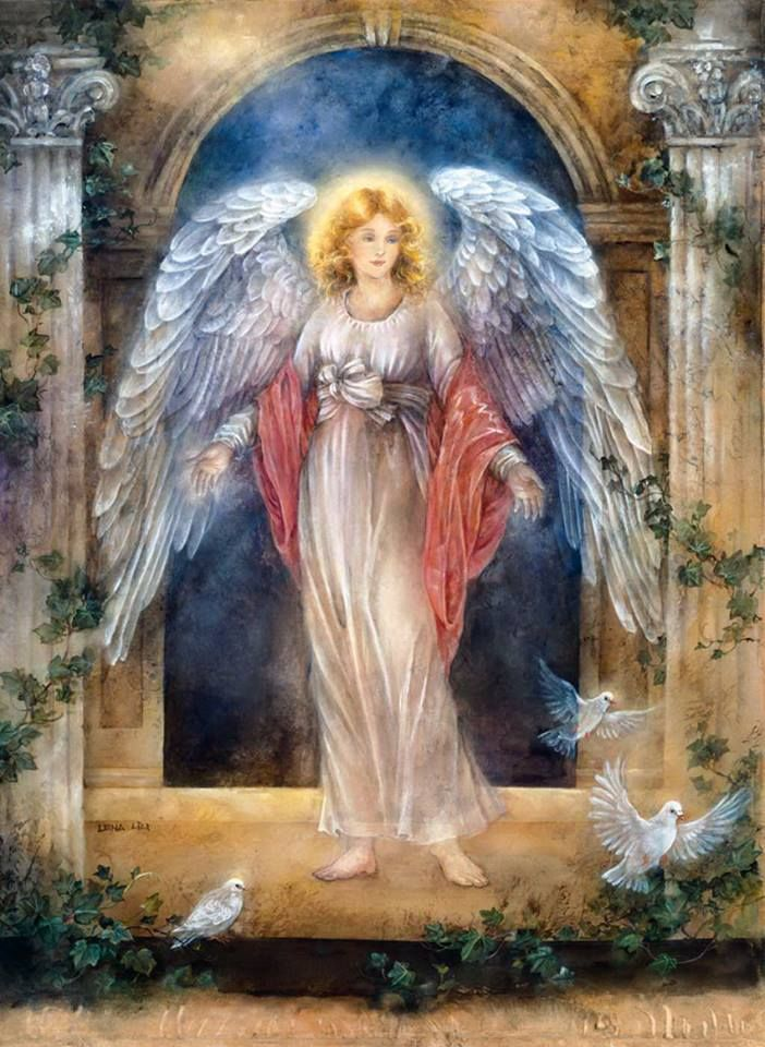 306 best images about angels gather here on pinterest for Angel paintings for sale