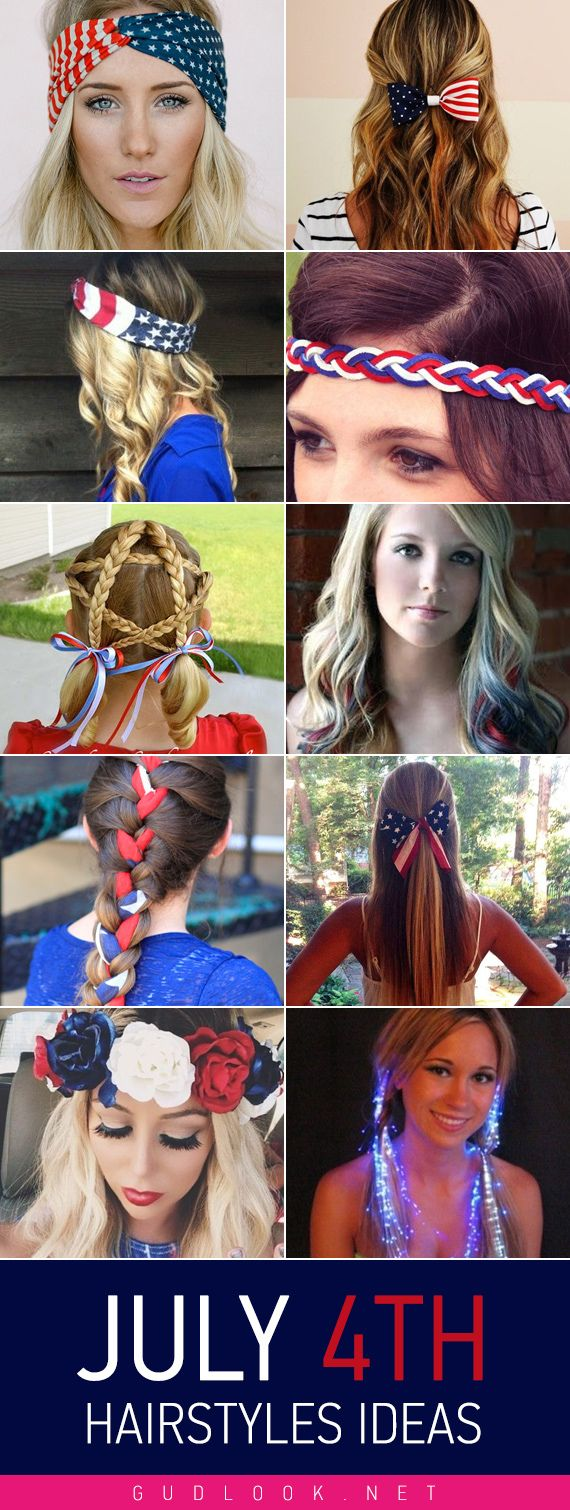 July 4th hairstyles ideas 2015 by gudlook