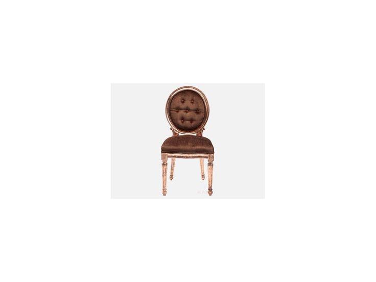 Krzesło Louis III brązowe — Krzesła — KARE® Design