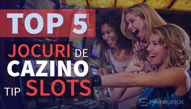Articole Cazino online pe PariuriX.com: Cele mai bune jocuri de cazino de tipul sloturi la cazinouri online: Vezi care sunt cele cinci cazinouri recomandate!