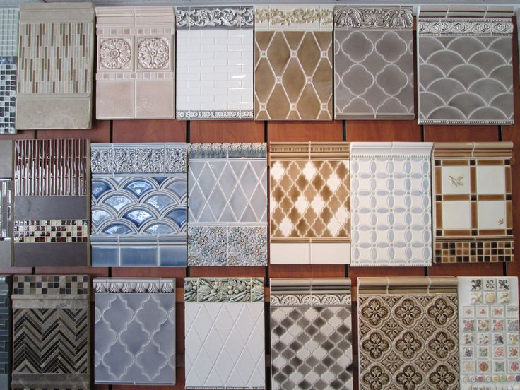 A Concept Board Wall From One Of Our Fiorano Showrooms
