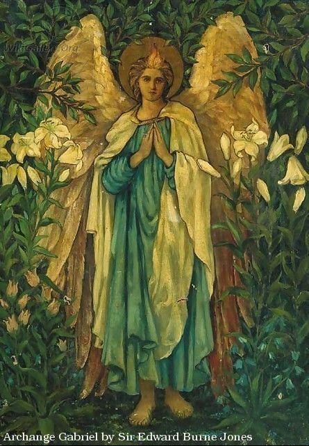 Archangel Gabriel by Sir Edward Burne Jones
