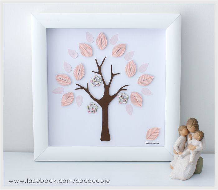 Beautiful 3D Peach Blossom Tree - READY TO POST for Cheistmas | CocoCooie | madeit.com.au
