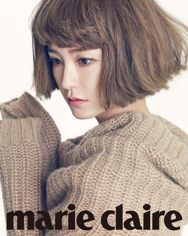 Jung Yu-mi // Marie Claire Korea // September 2013