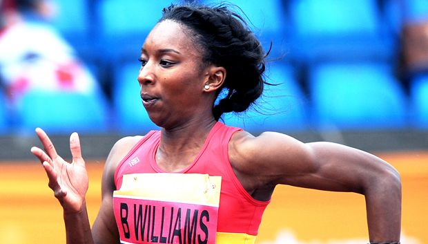 Bianca Williams - 200 metres.