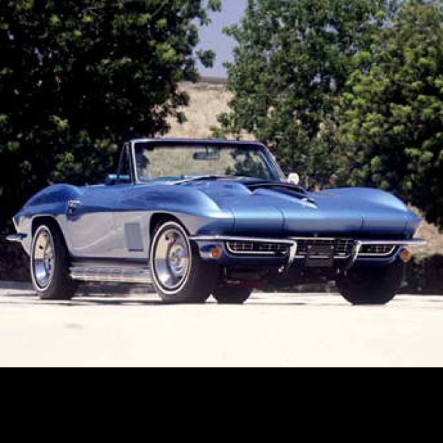 Just 1 more...67 convertible SRay 427 w/ pipes!! Dreamy blue!!More 67 Convertible, Convertible Sray, Sray 427