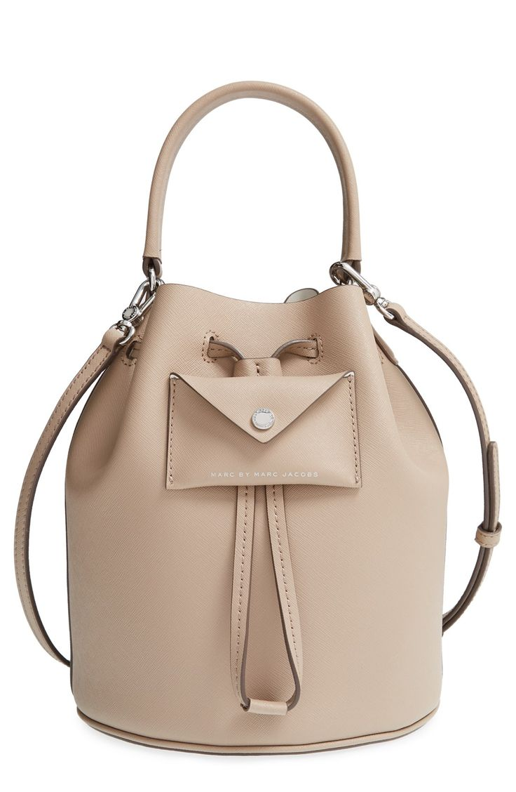 Elevating the street-style game with this ultrachic Marc by Marc Jacobs leather bucket bag. @nordstrom