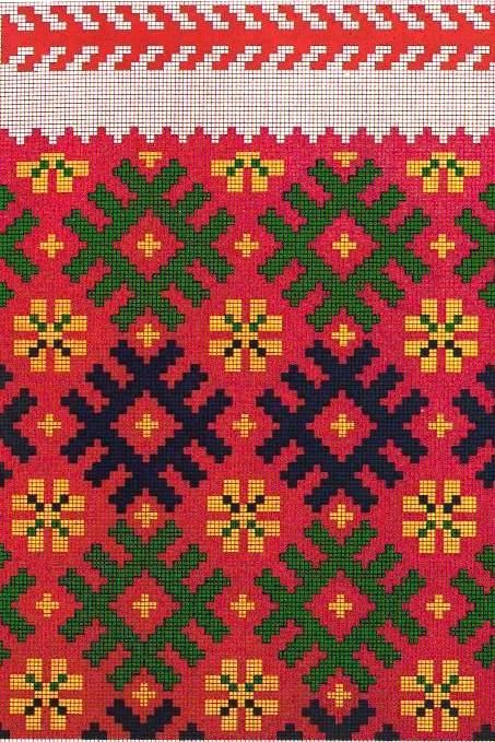 Traditional knitted sock pattern. Alsunga, Latvia.