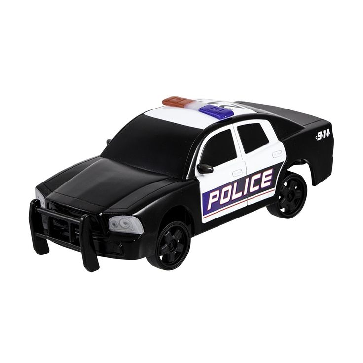 Series RC Drift Racer and Police Car