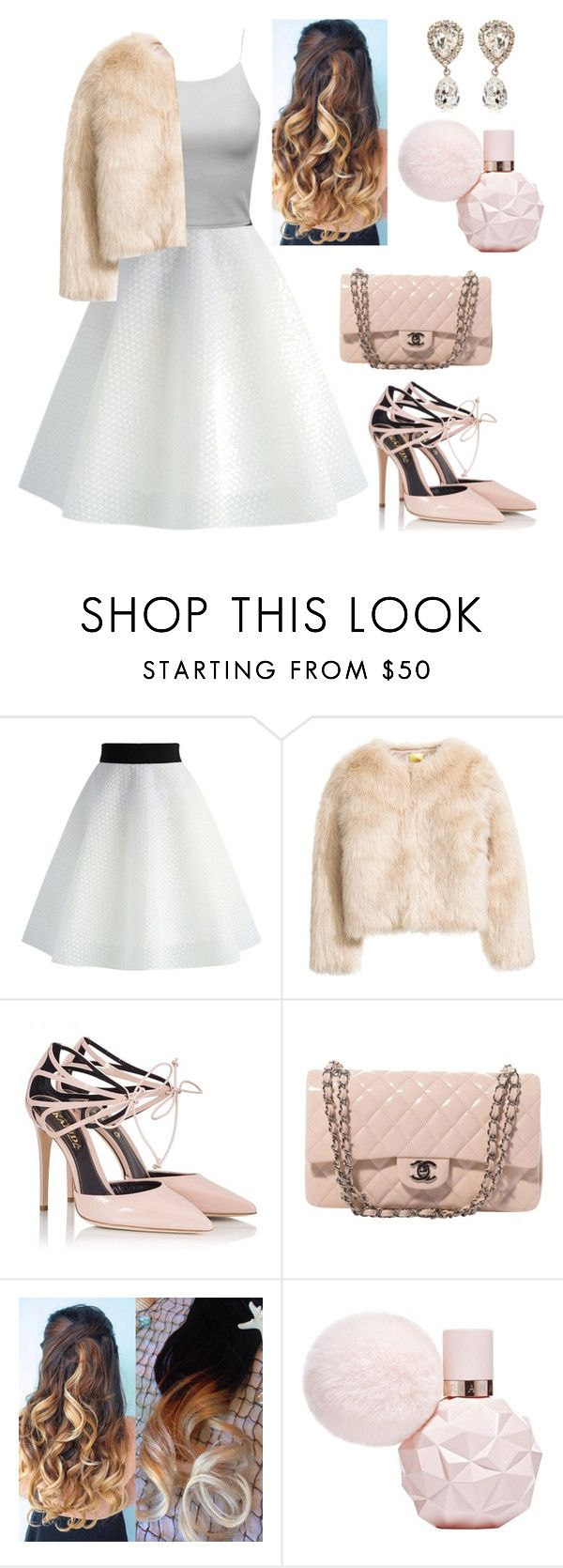 """""""Vintage Chic (Gabi DeMartino inspired)"""" by linagymnast ❤ liked on Polyvore featuring Chicwish, Fratelli Karida, Chanel, Dolce&Gabbana and vintage"""