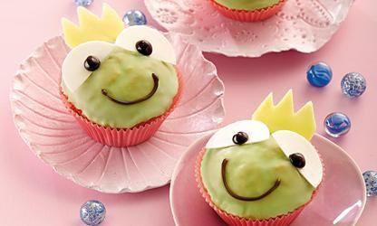 rezept-Froschkönig-Muffins für Kinder