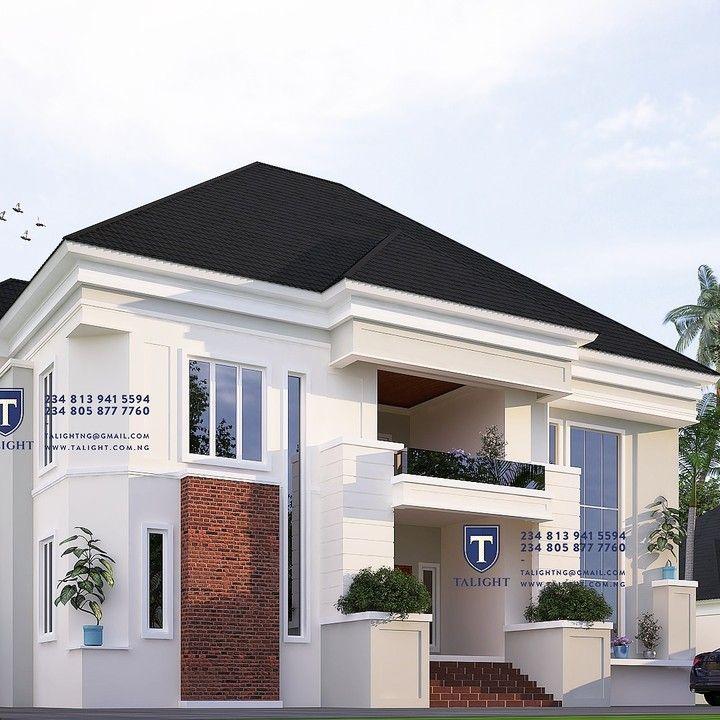 Interesting 4 Bedroom Duplex Designs In Nigeria 4 Bedroom Designs Duplex In Nigeria Check More At Http Tivocom Duplex Design Duplex House Plans Duplex