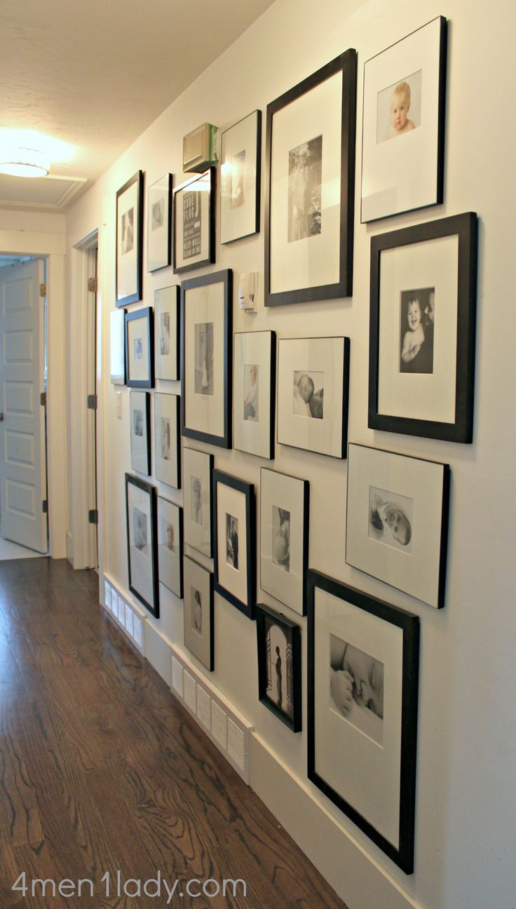 The makings of a gallery wall. Must do this with our future home.