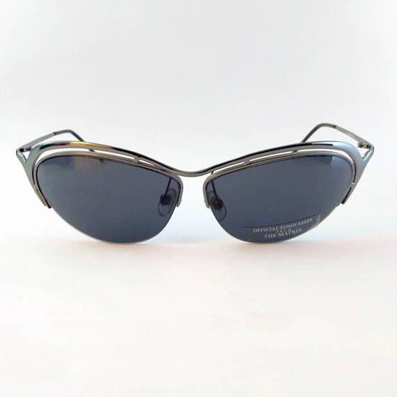 THE MATRIX RELOADED  occhiali di Trinity  cyberpunk  cyber
