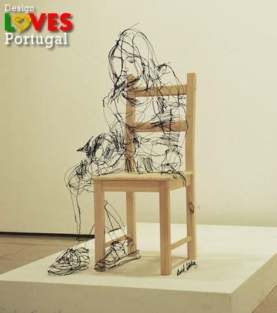 David Oliveira - Wire Sculptures That Looks Like Sketches     Lisbon-born sculptor David Oliveira creates delicate sculptures using wire that's formed to look like ink sketches hovering in air. Some pieces are hung from thin invisible threads to complete the illusion.    http://davidmigueloliveira.blogspot.pt/  https://www.facebook.com/media/set/?set=a.449203668448078.96177.224132780955169=1