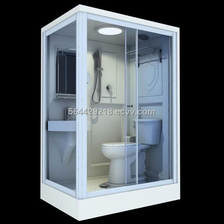 prefab bathroom pod