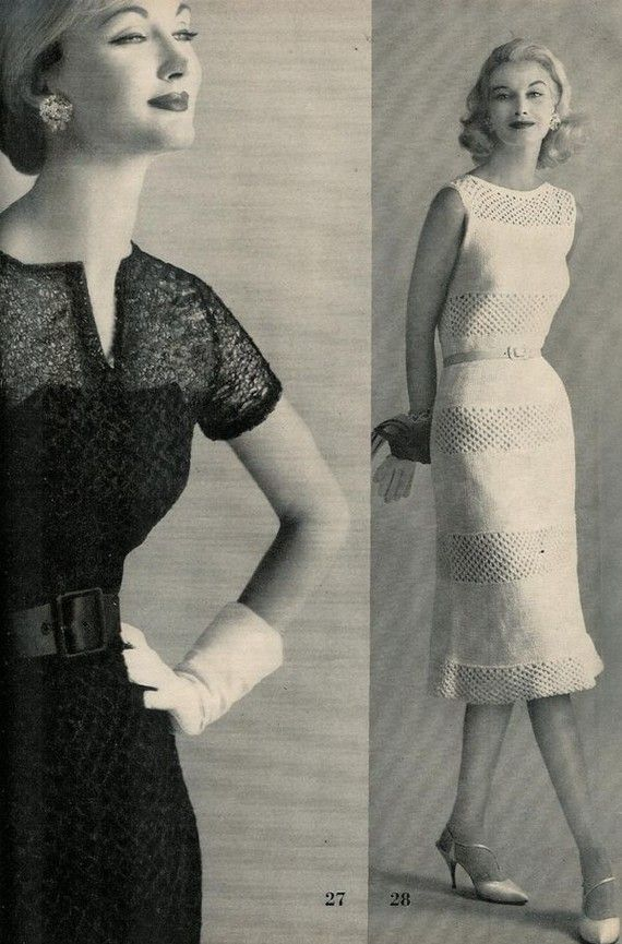 Free Vintage Vogue Knitting Patterns : 244 best images about Knitted Lace Dress on Pinterest Emilio pucci, Ravelry...