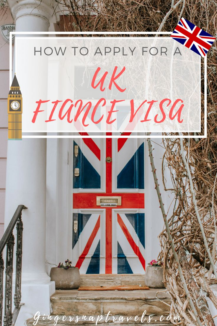 Everything you need to know about applying for a UK Fiance Visa. Visa, moving to london, expat, visa application, immigration #london #uk #movingtolondon #expat #visa #fiancevisa