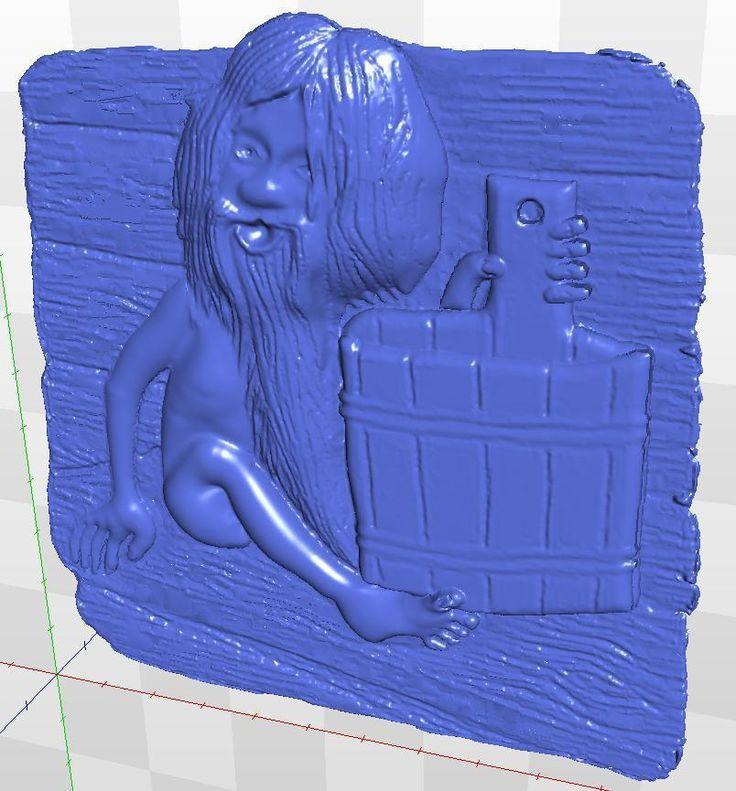 cnc in STL file format  Panno_bath_1 3d  model  relief #Affiliate