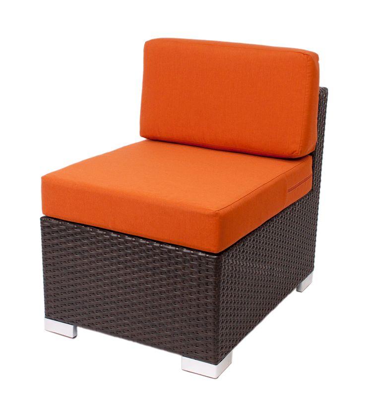 """Aruba"" lounge furniture #center #RestaurantFurniture #restaurant #hospitality #sofa #ModularFurniture #LoungeFurniture #OutdoorFurniture #design #wicker #aluminum #outdoor"