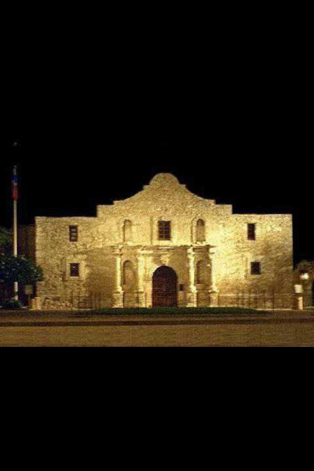 Alamo   (I built the Alamo out of sugar cubes twice during school years for extra credit)...