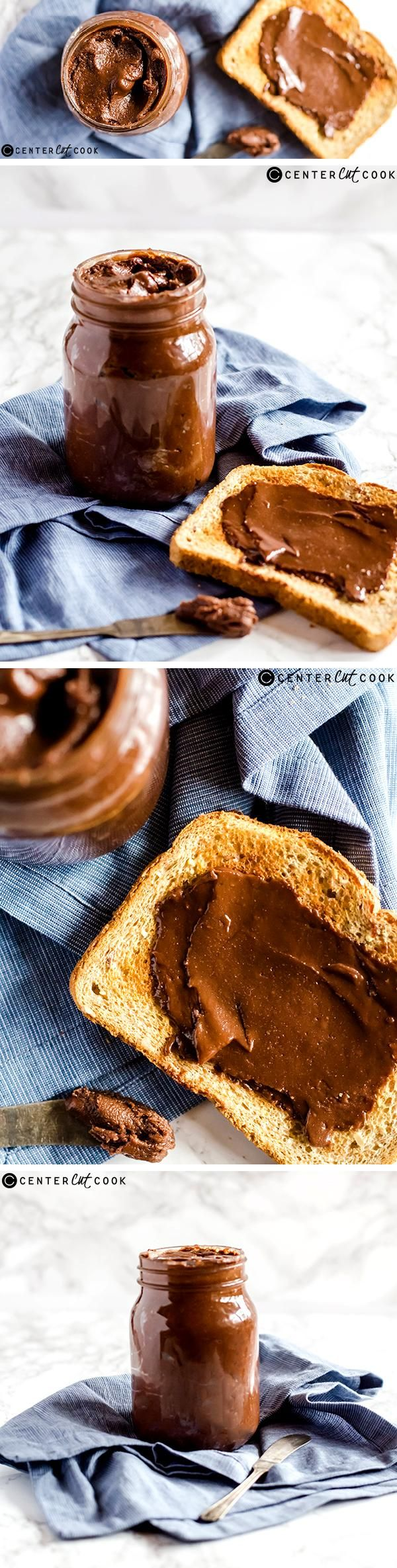 It's easier and tastier than you think to MAKE your own HOMEMADE NUTELLA spread. You can whip up a batch of this irresistible chocolate hazelnut spread in minutes!