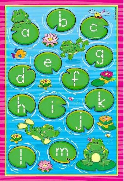 thema de sloot, oefenen met letters 1
