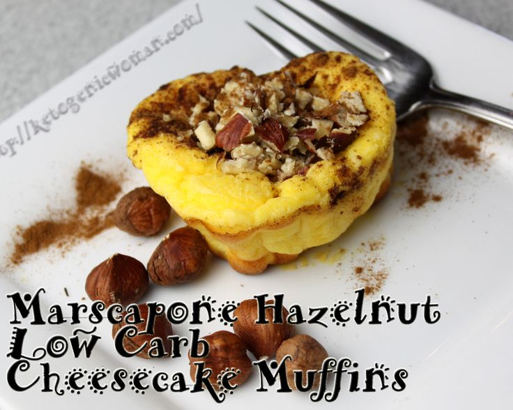 These low carb cheesecake muffins are super easy!  #keto #lowcarb #eggfast