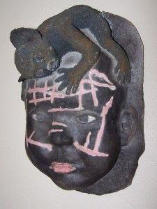 Enfant NUKAK d'amazonie et son petit singe
