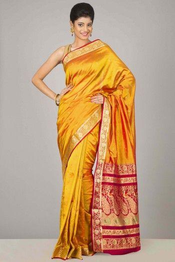 Coimbatore Pure Silk Sarees | Paithani Inspired | IndiaInMyBag.com