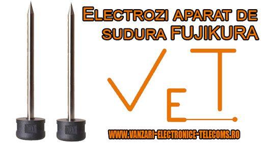 In masura in care sunteti interesat de electrozi noi pentru aparatul dumneavoastra de sudura Fujikura dorim sa va informam ca prin intermediul magazinului nostru online va oferim electrozii de care aveti nevoie. Acestia sunt compatibili cu o gama foarte variata de aparate de sudura fibra optica. Descoperiti toate informatiile de care aveti nevoie despre electrozii disponibili  in magazinul nostru pe http://www.vanzari-electronice-telecoms.ro/produse/48/electrozi-mansoane-termo/ Photo