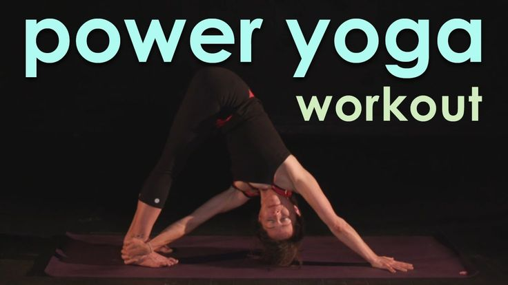Full Power Yoga Workout ~ Sweaty, Soulful Flow Yoga Videos on