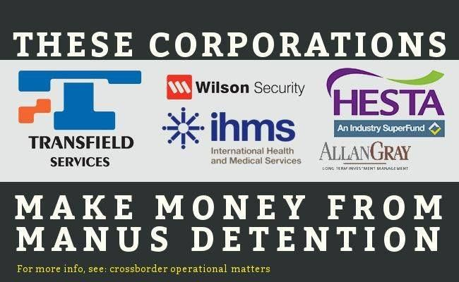 Detaining a single asylum seeker on Manus or Nauru costs $400,000 per year. Detention in Australia costs $239,000 per year. Allowing asylum seekers to live in the community while their claims are processed costs just $12,000 per year. HESTA (the health sector superannuation fund) is at present a substantial shareholder in Transfield Services, the company that runs the Australian detention centres on Nauru and Manus Island (PNG).