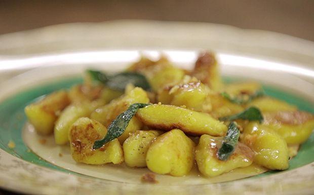 O nhoque de mandioquinha, ou batata baroa, da Rita Lobo é uma ótima pedida para diversificar o jantar.