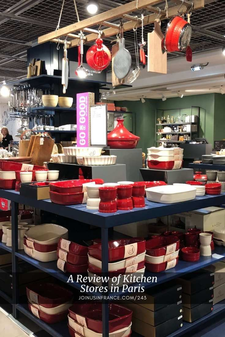 Visiting Kitchen Supply Stores In Paris Join Us In France Travel Podcast In 2020 Kitchen Supply Store Kitchen Supplies Paris Kitchen