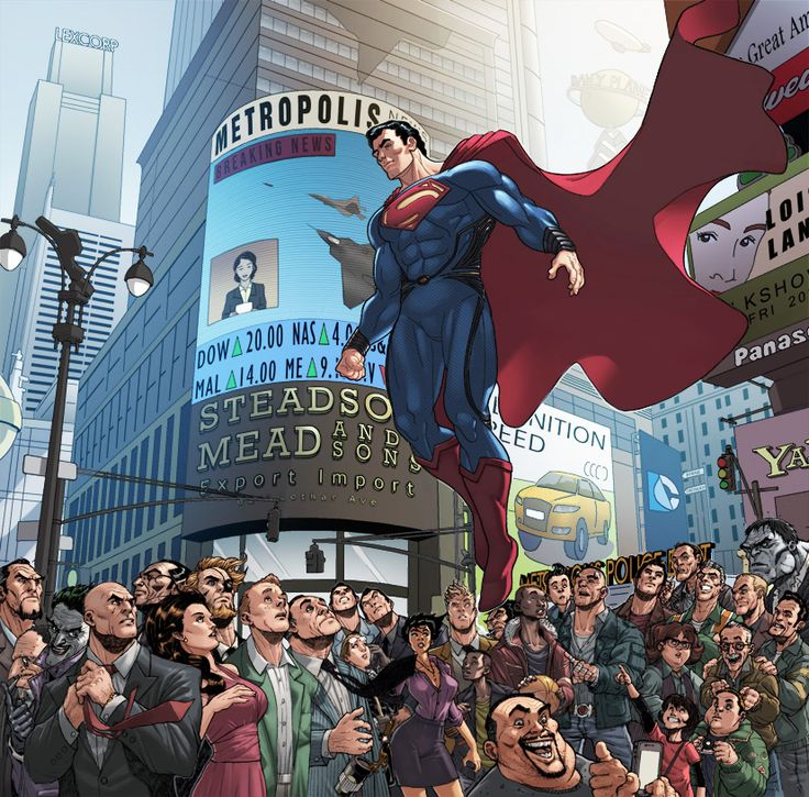 Welcome To Metropolis, Man Of Steel by BongzBerry.deviantart.com
