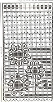 crochet em revista: Cortina