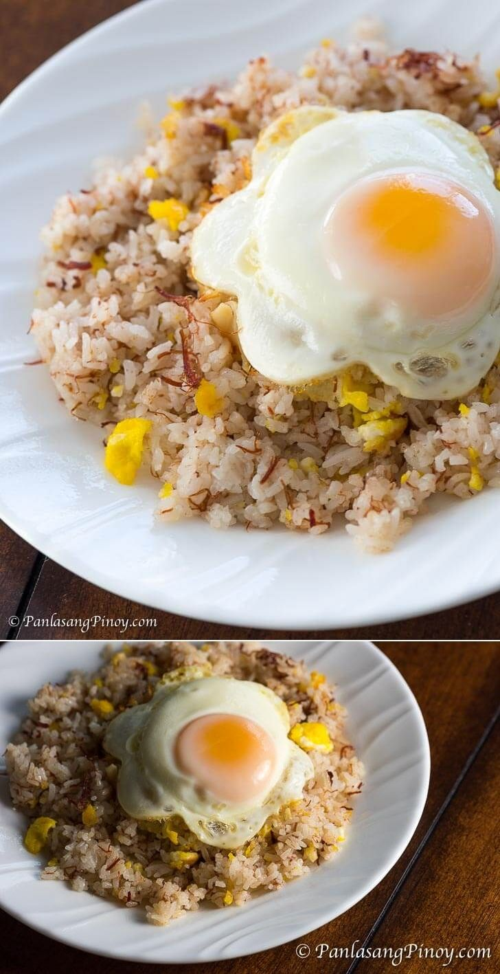 Corned Beef Fried Rice with Egg - Panlasang Pinoy