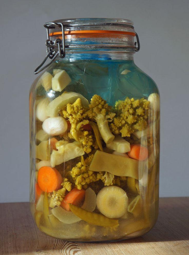Mjölksyrade grönsaker och pickles | ekoplantan