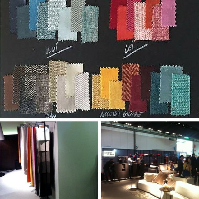 An example of the new fabrics created by our textile lab and presented during Salone del Mobile 2015.