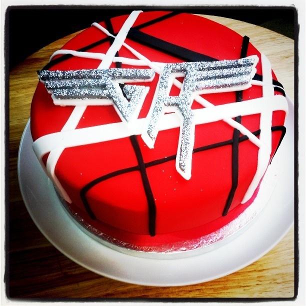 Van Halen Birthday Cake