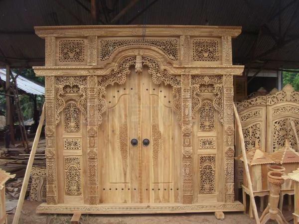 Pintu Gebyok 3 Dimensi 270x270x14cm • Max Havelaar Furniture • Indonetwork.co.id