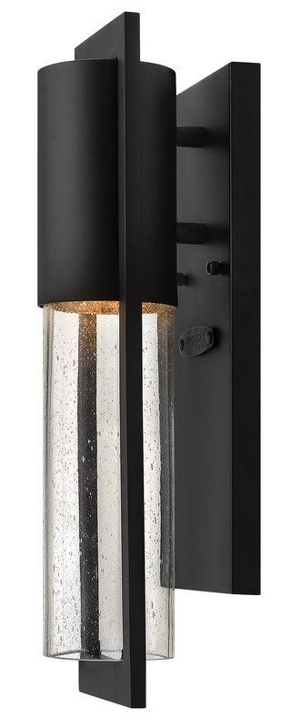 "Hinkley Lighting 1326 15.5"" Height 1 Light Dark Sky Outdoor Wall Sconce from the Black Outdoor Lighting Wall Sconces Outdoor Wall Sconces"