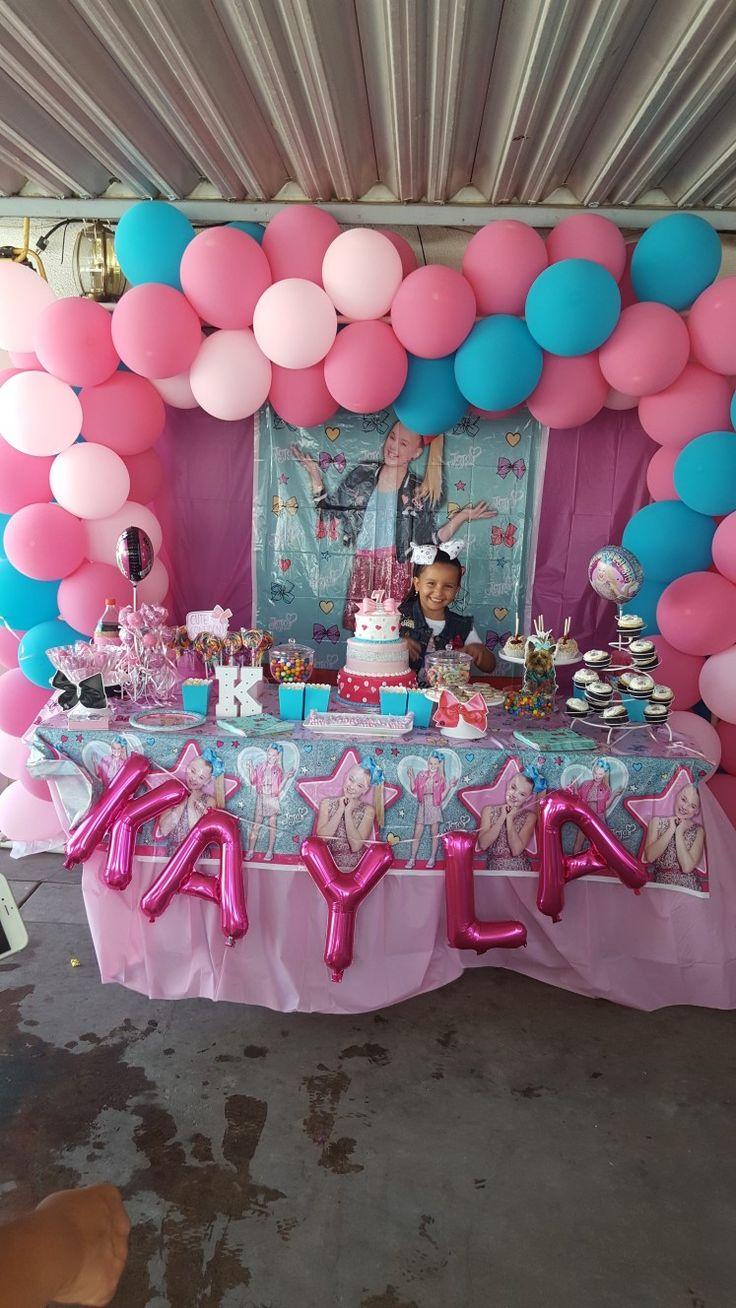 Decorations Party Jojo Siwa