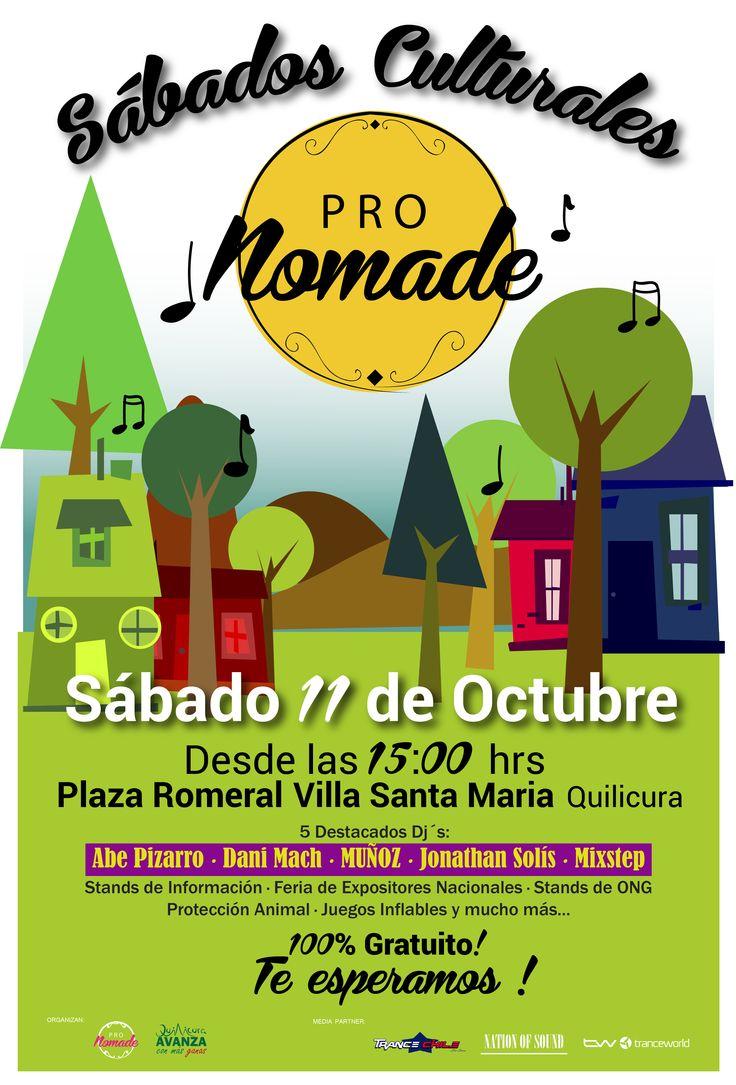 """EventoCultural: ProNomade Presenta """"Sábados Culturales ProNomade"""" [Entrada Gratuita]"""