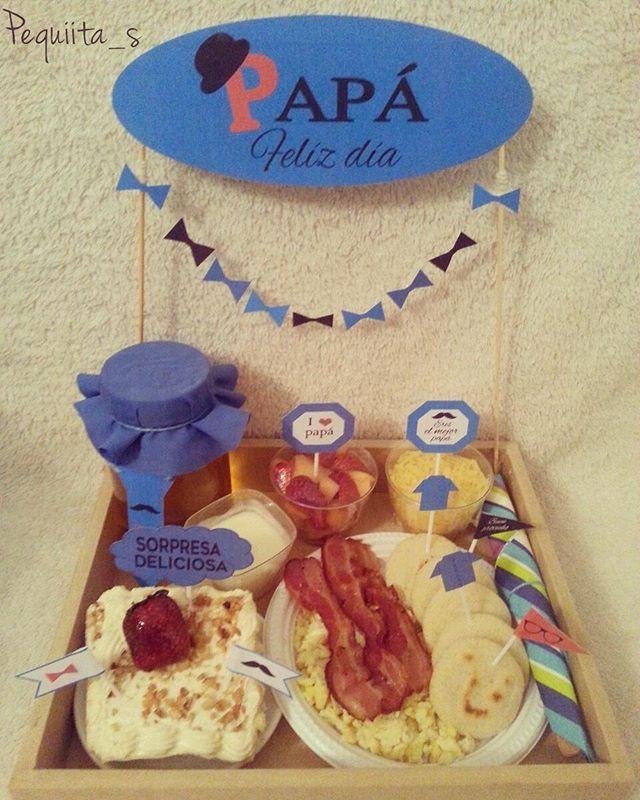 #diadelpadre #desayuno #merienda #psicolabis #sorpresa #regalo #papa #abuelo #desayunosorpresa #carupano #sucre #venezuela