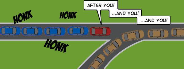 From Cracked: 9 Bad Drivers Nobody Complains About