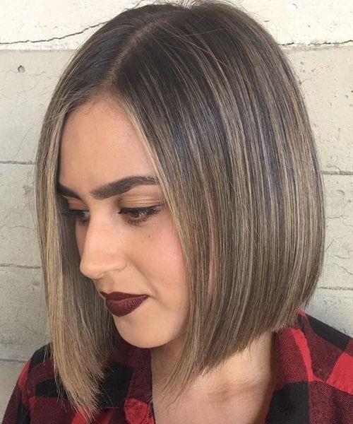 fashionable layered bob hairstyles