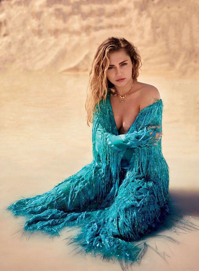 Miley Cyrus von Ryan McGinley für Vanity Fair, März 2019